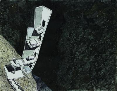 inhabited observatory