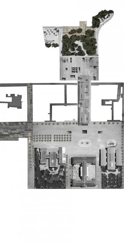 Klauthmonos Square - Korais Pedestrian Street - Trilogy