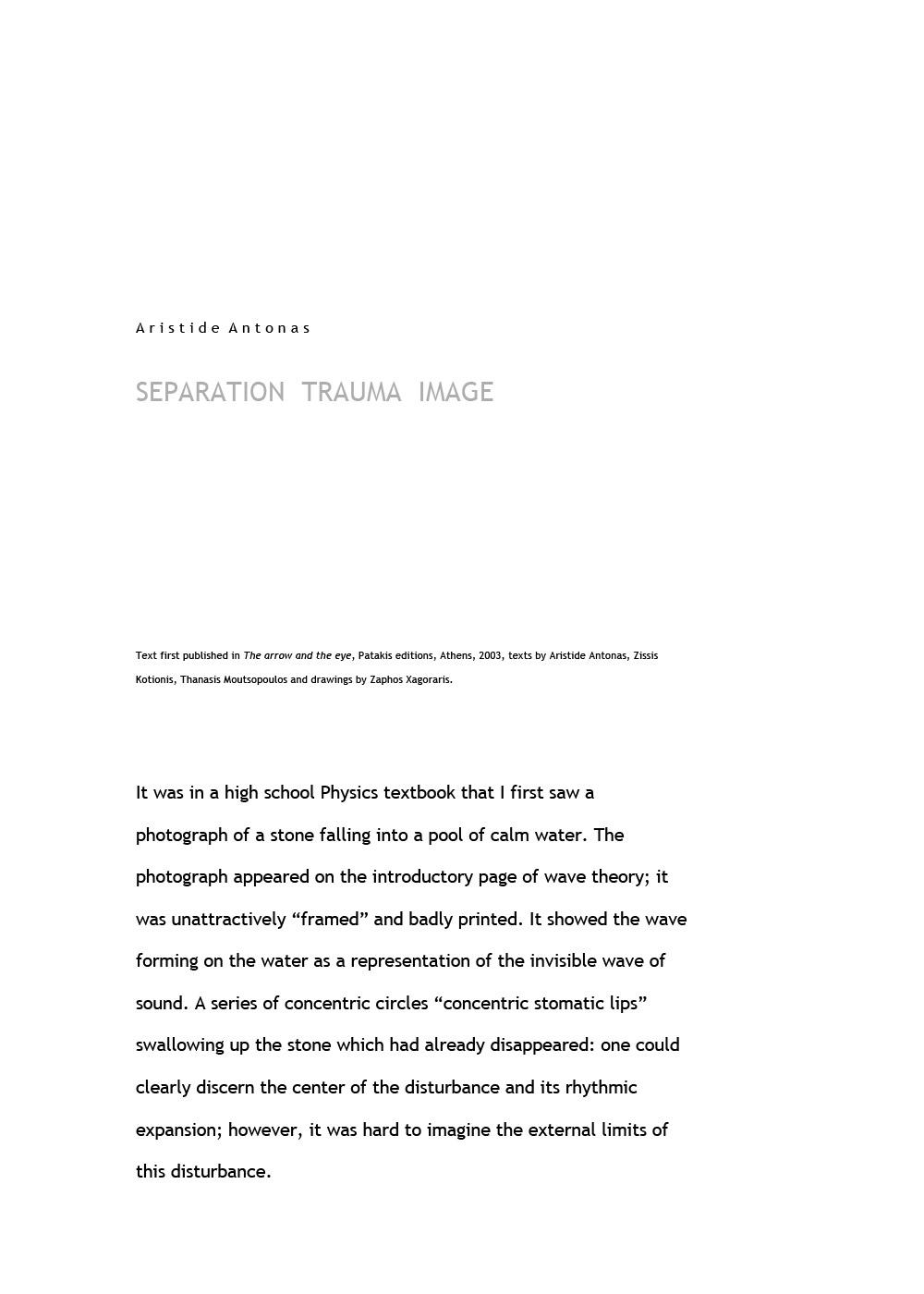 Separation Trauma Image
