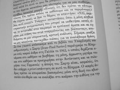 Zizek: do nothing (in Greek)