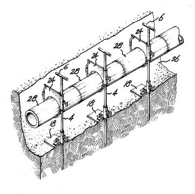 Weak Monumental Square: piping system